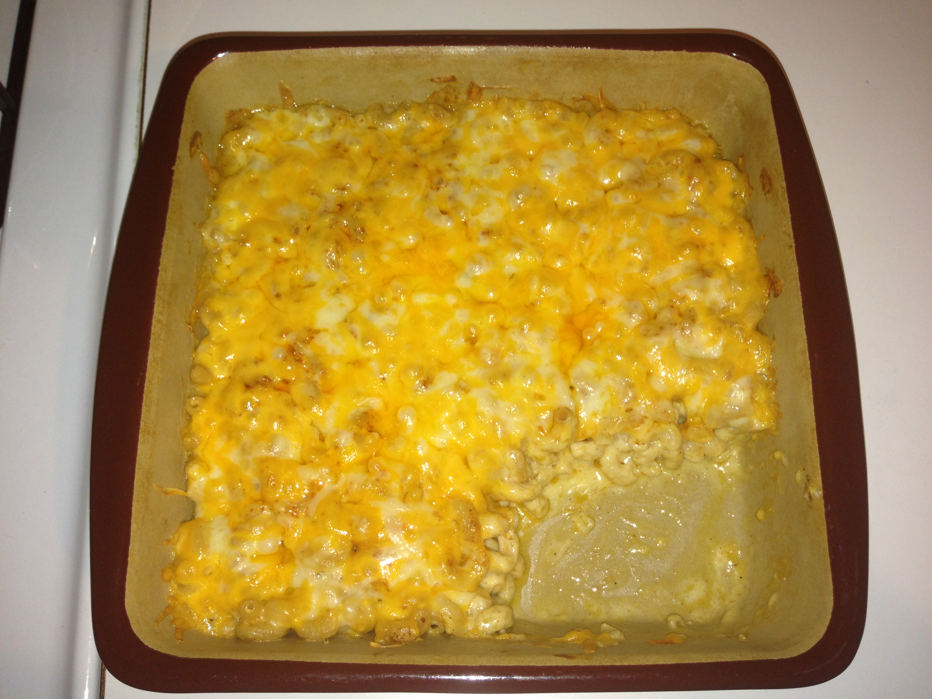 spicy mac&cheese